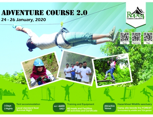 Adventure Course 2.0 by Rope4